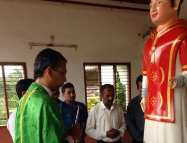 St. Lawrence statue of St. Antony's church Sasthan, will be sent to St. Lawrence church Attur.