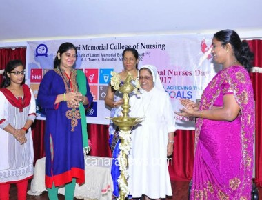 Laxmi Memorial College holds intercollegiate competition for Nurses Day