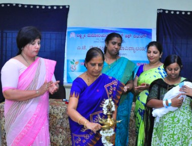 Laxmi Memorial College of Nursing observes 'World Breast Feeding Week'