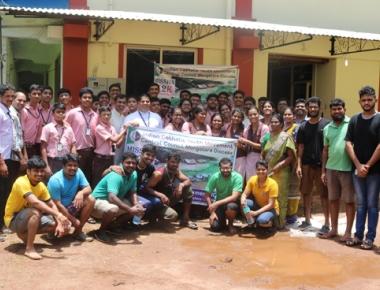 Lourdes Central School contributes copiously to flood hit Kerala, Kodagu