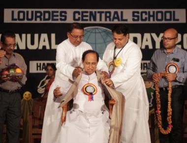 Lourdes Central School celebrates colourful Annual Day