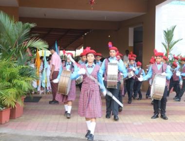 Lourdes Central School celebrates 69th Republic Day