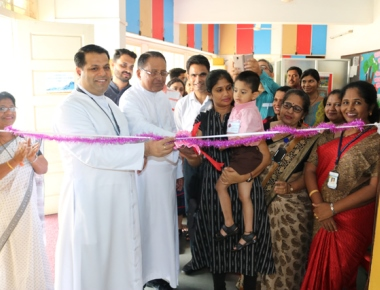 Lourdes Central School welcomes KG 1 students to cozy atmosphere