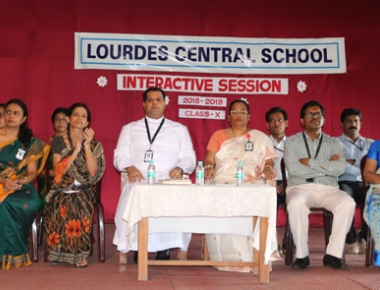 Parent-teacher interactive session held at LCS