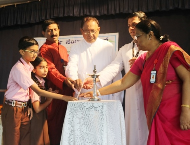 Lourdes Central School observes Konkani Manyata Divas