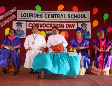 Convocation Day held for tiny tots at Lourdes Central School