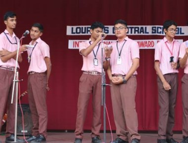 Boys of LCS observe 'International Day for the Girl Child'