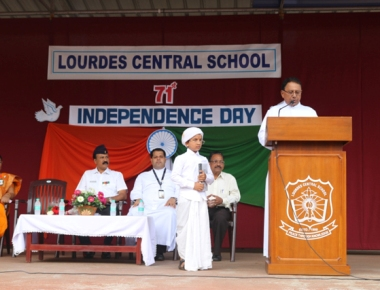 LCS celebrates Independence Day ceremoniously