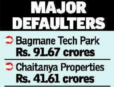 BBMP releases list of major property tax defaulters including a plush five star hotel Leela Palace