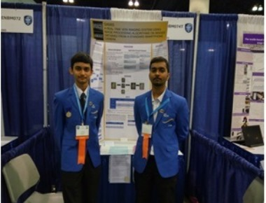 Little Rock students in the ISEF in Los Angeles