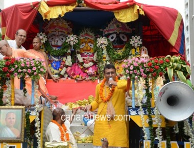 Lord Jagannath Chariots organised by ISKON at Mira Road, near Mumbai