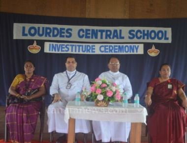 Lourdes school holds investiture ceremony