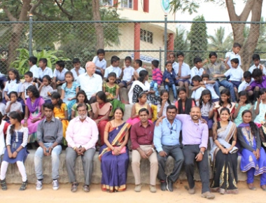 Loyola Degree College Bengaluru celebrates Christmas, New Year with BESSO children