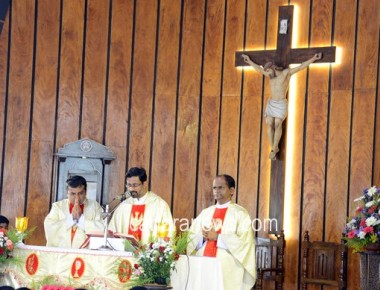 Inaugural Mass and inauguration of DCA at St Philomena College Puttur