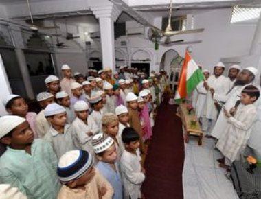 UP madrassas unfurl tricolour, sing national anthem on I-Day