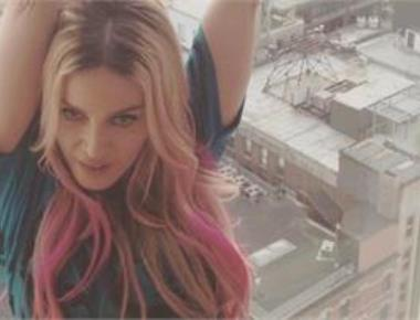 Queen of Pop Madonna dyes her hair ombre pink