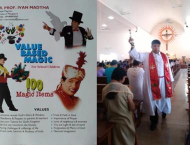 Mangaluru priest conducts shows to raise funds for PMI in Bengaluru