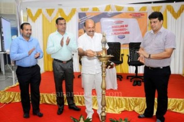 MLA Bawa launches Robomate app at Mahesh PU College