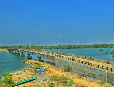 Malpe-Padukere bridge inaugurated by Pramod Madhwaraj