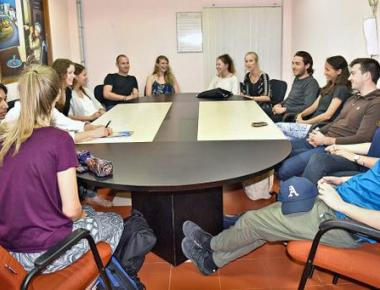 Students from abroad thrilled with the experience in Manipal