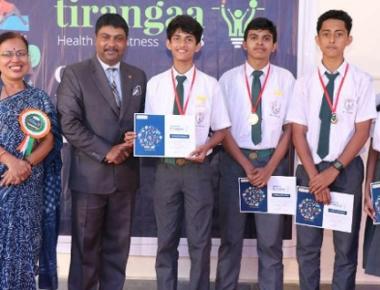 Manipal School celebrates inter-school cultural fest 'Tirangaa 2018'