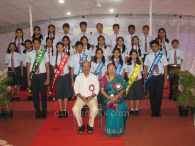 Manipal School welcomes new cabinet members at investiture ceremony