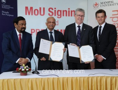 Manipal University signs MoU with University of Wollongong, Australia