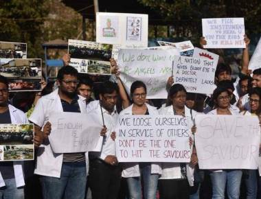 Resign if you don't want to work, HC tells doctors