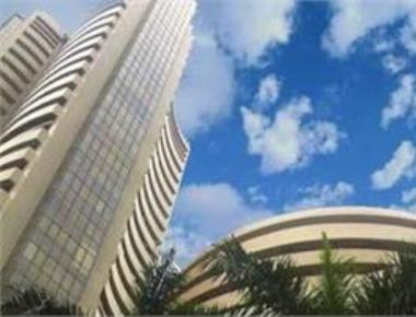 Sensex jumps 192 points to near one-month high