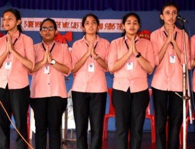 Student cabinet at St Mary's PU College inaugurated