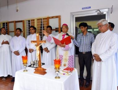 Bishop inaugurates St Mary's Central School