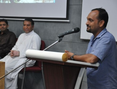 Master class with Prithvi Konanur, director of the movie 'Railway Children'