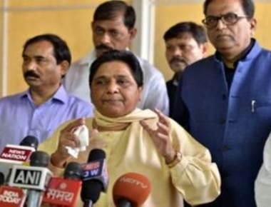 Mayawati quits Rajya Sabha, attacks BJP, government for gagging her