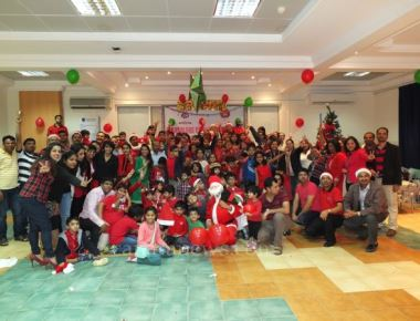 MCC Qatar celebrated Christmas Joy with Children