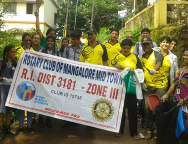 Cleanliness drive marks Gandhi Jayanti at MCCS