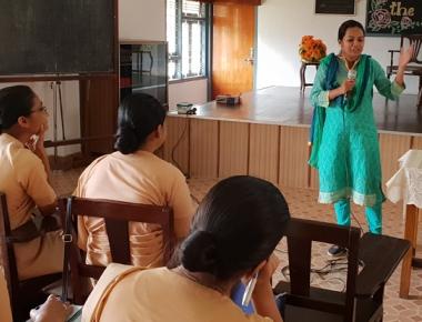 Media Education to Apostolic Carmel Sisters held at St Ann's