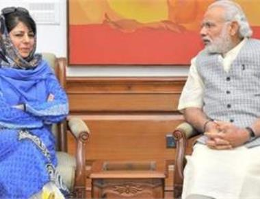 Mehbooba calls on PM, terms meeting as
