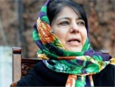Mehbooba calls all-party meeting to discuss situation in Kashmir