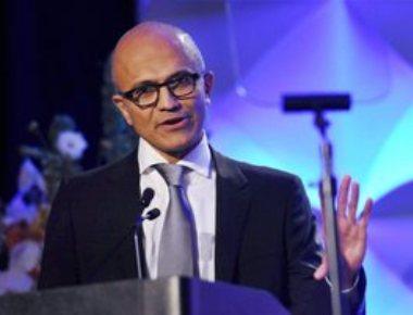Microsoft plans to take technology to 5 lakh villages: Nadella