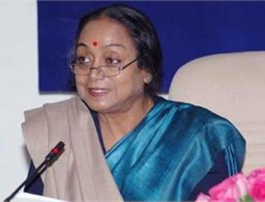 Meira Kumar files nomination, says 'fight of ideology' begins