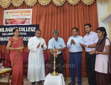 Management Association at Milagres College inaugurated