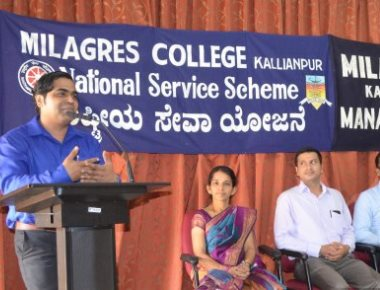 Milagres College Kallianpur holds lecture on personality development