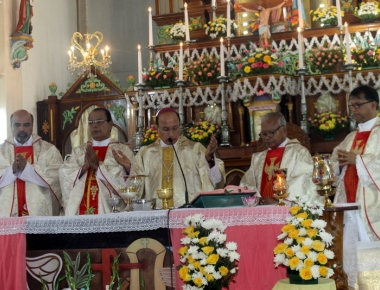Milagres Cathedral celebrates the titular feast of Our Lady of Miracles with devotion and gaiety