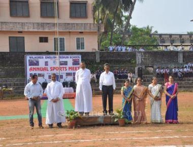 Milagres English  Medium School Kallianpur, held its Annual Sports meet - 2015-16