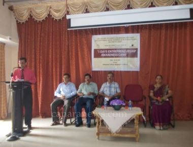 Entrepreneur Development Camp held at Milagres College