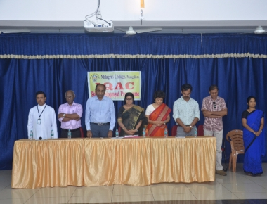 Soft Skill training programme held for non-Christian students