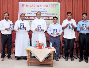 Book on Indian Corporate Law released at Milagres College
