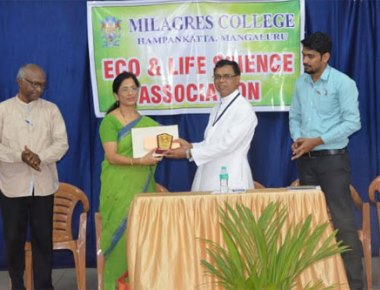 Milagres College holds awareness programme on 'Green India Mission'