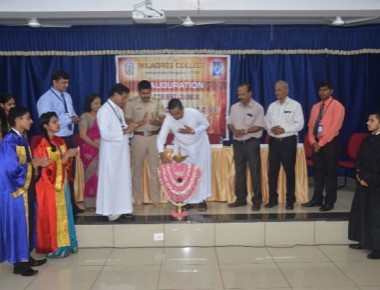 Milagres College inducts student council, various associations, club members