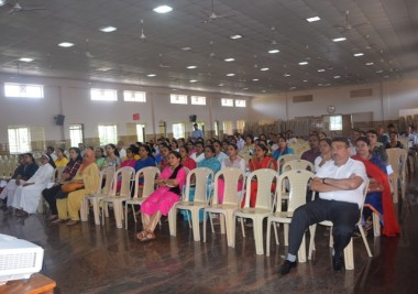Mission Kishore Uday programme held at Mount Carmel Central School